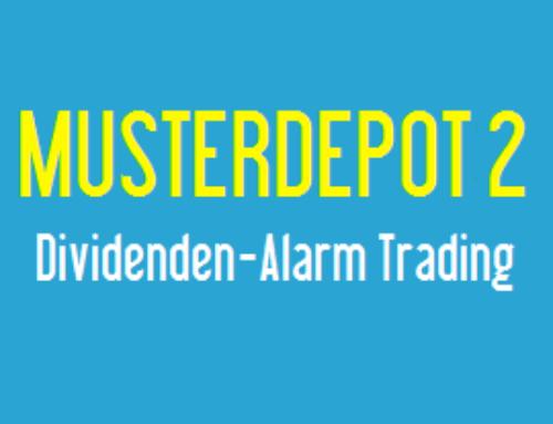 Trading Musterdepot 2 – 27. März 2018