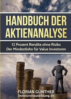 Handbuch der Aktienanalyse - von Florian Guenther