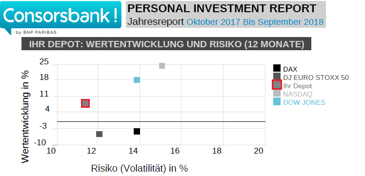 Mein Consorsbank Personal Investment Report
